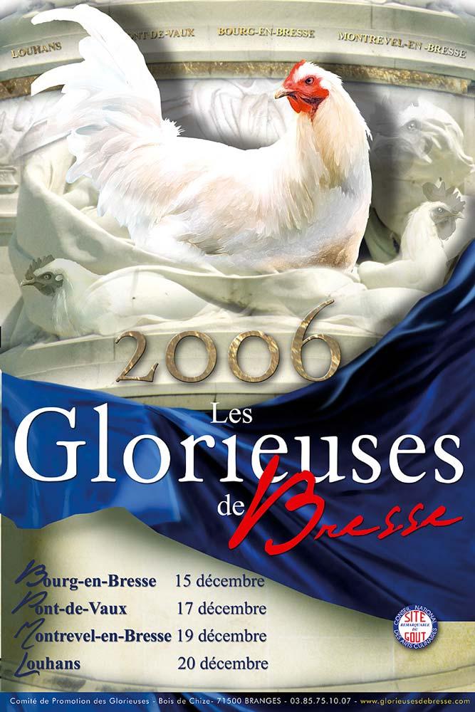 Affiche de l'édition 2006 des Glorieuses de Bresse