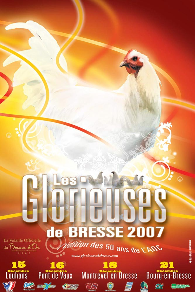 Affiche de l'édition 2007 des Glorieuses de Bresse
