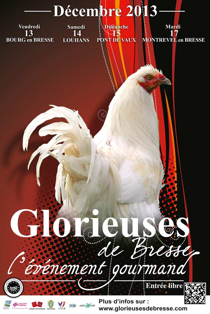 Affiche de l'édition 2013 des Glorieuses de Bresse