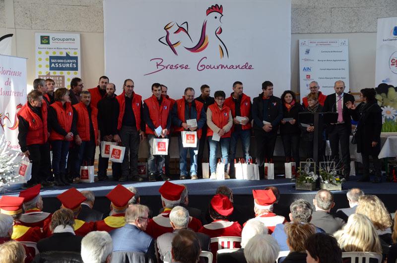 Les éleveurs récompensés lors de la Glorieuse de Montrevel-en-Bresse